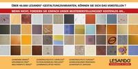 Musterflächenerstellung mit LESANDO-Lehmputz und Lehmfarbe