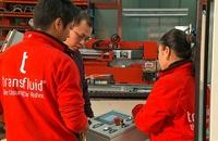 transfluid mit optimalem Service für Rohrbearbeitungsmaschinen