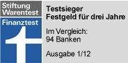 Festgeld-Vergleich: VTB Direktbank begrüßt Neukunden mit 25 Euro Bonus