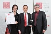 Tyczka Totalgaz als einer der besten Arbeitgeber Deutschlands ausgezeichnet.