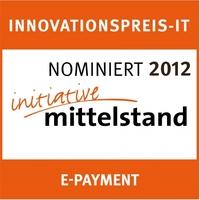 "Innovationspreis-IT 2012: Novalnet AG belegt den 2. Platz in der Kategorie ""E-Payment"""