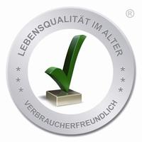 """Der """"Grüne Haken"""" - Geschützte Marke für Lebensqualität im Alter"""