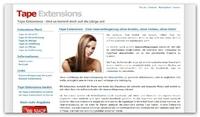 Tape In Extensions - eine Haarverlängerung der Extraklasse