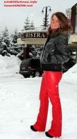 Tina in Mavrovo - Wo das Winterwonderland zu Hause ist.