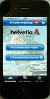 Helvetia mit neuer iPhone-App für Kfz-Schäden