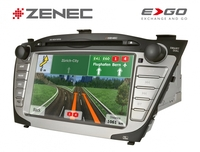 Zenec ZE-NC4121D - Festeinbaunavigation für den Hyundai iX35