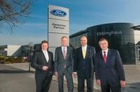 Feierliche Eröffnung des ersten Ford Gewerbe-Partnerzentrums der Ebbinghaus Dortmund Autozentrum GmbH