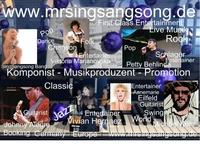 Promoter MrSINGSANGSONG  arbeitet jetzt auch mit dem Bekannten Schlager und Popstar Annemarie Eilfeld zusammen.
