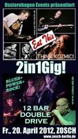 Live: Eat This und 12 Bar Double Drive am 20. April 2012 im Zosch