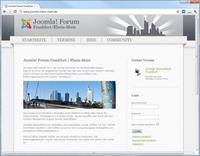 Joomla! Forum Frankfurt: Zweites Treffen der JUG Frankfurt / Rhein-Main am 20. April
