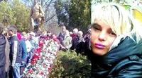 Oksana Makar wie eine Prinzessin beerdigt