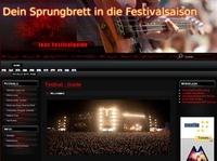 Neues Infoportal für die Fesival- und Musikszene gestartet.