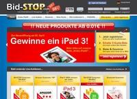 Produkte & Gutscheine ab 1 Cent - Auktionen bei Bid-STOP.com
