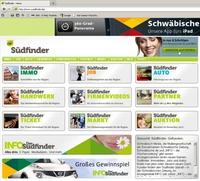 Schwäbisch Media: Südfinder statt klassischer Rubrikenmarkt