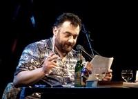 Walter W. Baumann liest und lebt Gedichte und Kurzgeschichten, 26. April 2012, Frannz-Club, Berlin