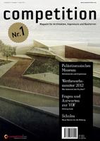 competition  das neue Magazin für Architekten, Ingenieure und Bauherren