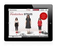 Anziehpuppe mal anders: sheego bringt Mode für Kurvenstars aufs iPad