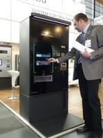 Fahrscheinautomat mit Smartphone-Technik