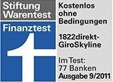 2. Platz im Bankentest: 1822direkt überzeugt mit Produkt- und Servicequalität