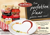 Liebe geht durch den Magen: Mit Bertolli und neu.de auf Partnersuche gehen