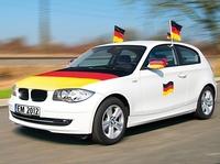 """infactory Überziehfahne """"Deutschland"""" für die Motorhaube"""