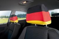 """infactory Kfz-Kopfstützenbezug """"Deutschland"""", 2er-Set"""