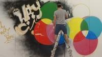 Live Graffiti-Performance DRUPA2012 bei ROTATEK BRASIL Halle 11 E19 von 12 bis 17 Uhr:Binho Ribeiro & kj263