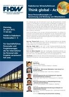 Paderborner Wirtschaftsforum an der Fachhochschule der Wirtschaft
