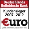 """Zufriedene Kunden: ING-DiBa auch in 2012 """"Beliebteste Bank"""""""