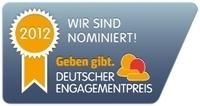 Potenzial(s)pass für Deutschen Engagementpreis 2012 nominiert
