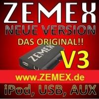ZEMEX V3 - Der innovative MP3 USB Auto Radio Adapter
