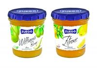 Zuegg bringt fruchtig-frische Sommerkreationen auf den Tisch  Neue Fruchtaufstriche Zitrone und Williams Birne versüßen die sonnige Jahreszeit; köstlich auch zu Käse