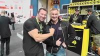 MAXPREP Athlet Chris Beyer mit Günther Schlierkamp zum Männerdebüt