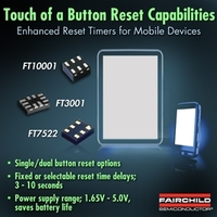 Verbesserter Reset-Timer von Fairchild Semiconductor ermöglicht einfache Reset-Lösung für mobile Geräte bei Hardware-Hänger