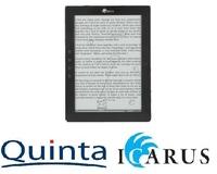 Quinta vertreibt ersten 10 Zoll eBook Reader von Icarus