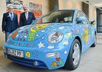 Rizzi-Beetle steht im Haus der StädteRegion Aachen
