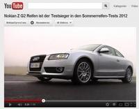 """""""Nokian Z G2 Reifen ist der Testsieger in den Sommerreifen-Tests 2012"""" Video"""