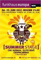 Summerstage - !A Fuego!  Präsentiert von Funkhaus Europa