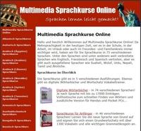 Multimedia Sprachkurse Online - Sprachen lernen am PC