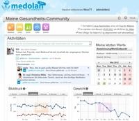 Endlich ein Treffpunkt für alle Gesundheitsbewussten im Internet: Medolan startet als neues Gesundheitsportal mit Community und Gesundheits-Tagebuch