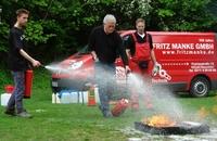 Fritz Manke GmbH: Düsseldorfer Abenteuerspielplätze - Sozialpädagogen sind für den Notfall geschult