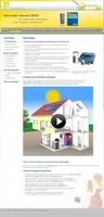 Vom Dach zum Keller in jeden Raum: gut versorgt mit Solarwärme