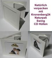 Kronenberg24 präsentiert umweltfreundliche Naturpak Swing CD Hüllen