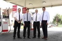 Tankstellen der Westfalen AG mit LED-Technik von Hella