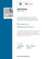 Best Of 2012 für Weltpremiere: Tiefkühltor EFA-TK-100 mit AFM