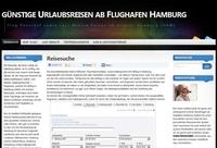 Flughafen Hamburg / Reisen ab Flughafen Hamburg buchen