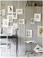 Wohntrend: Luftig dekorieren mit Aquarell- und Büttenpapier