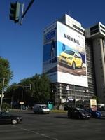 Deutschlands größtes Riesenposter für SEAT Mii
