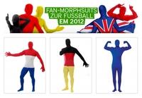 Fan-Morphsuits zur Fußball EM 2012