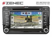 Zenec ZE-NC2011D: Festeinbaunavi für VW Golf V/VI Plattform